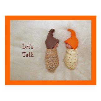 Let s Talk Cute Clay Babies Polymer Clay Postcards