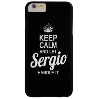 Let Sergio handle it! Barely There iPhone 6 Plus Case