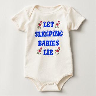 Let Sleeping Babies Lie Tee