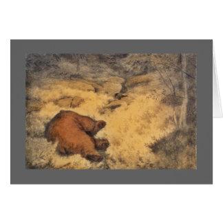 """""""Let Sleeping Bears Lie"""" Greeting Card"""