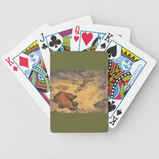 """""""Let Sleeping Bears Lie"""" Playing Cards"""