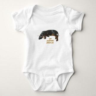 Let Sleeping Dogs Lie Basic Baby Bodysuit