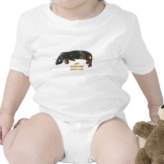Let Sleeping Dogs Lie Basic Tee Shirt
