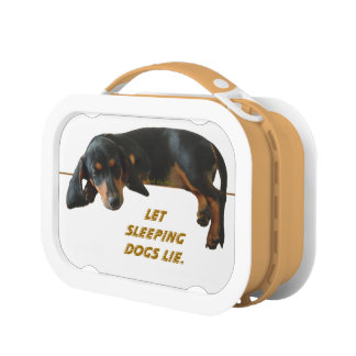 Let Sleeping Dogs Lie Lunch Box