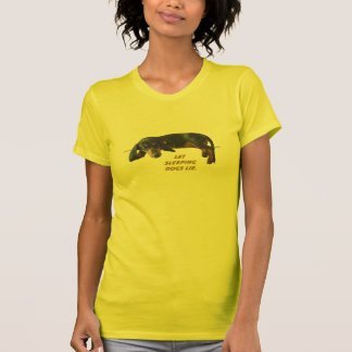Let Sleeping Dogs Lie Mommy Tee