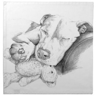 Let Sleeping Dogs Lie Napkin