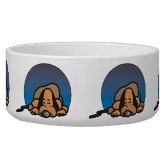Let Sleeping Dogs Lie Pet Water Bowl