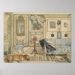 Let Sleeping Dogs Lie Swedish Watercolor