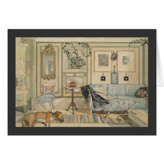 Let Sleeping Dogs Lie Swedish Watercolor Cards