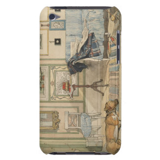 Let Sleeping Dogs Lie Swedish Watercolor iPod Touch Case