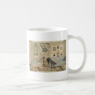 Let Sleeping Dogs Lie Swedish Watercolor Classic White Coffee Mug