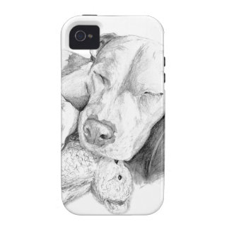 Let Sleeping Dogs Lie Vibe iPhone 4 Case