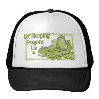 Let Sleeping Dragons Lie Trucker Hats