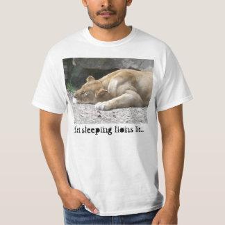 Let Sleeping Lions Lie T-Shirt