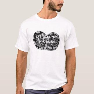 Let Sleeping Pythons Lie T-Shirt