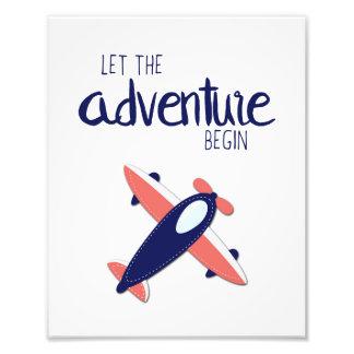 Let the Adventure Begin Art Print Photograph