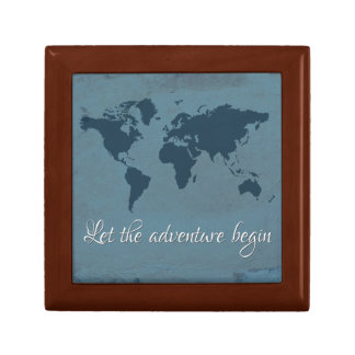 Let the adventure begin gift box