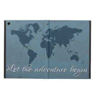 Let the adventure begin iPad air cover