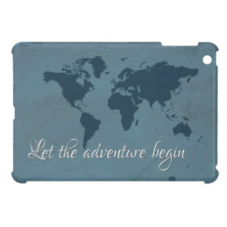 Let the adventure begin iPad mini covers
