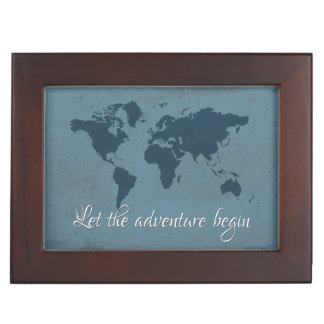 Let the adventure begin keepsake box