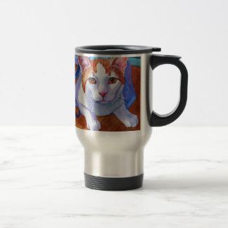 Let the Cat out of the Bag Stainless Steel Travel Mug