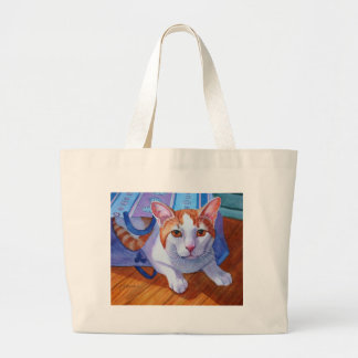 Let the Cat out of the Bag Jumbo Tote Bag