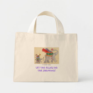 Let the Ellies do the Shopping Canvas Bags