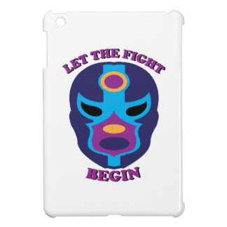 Let the Fight Begin iPad Mini Cases