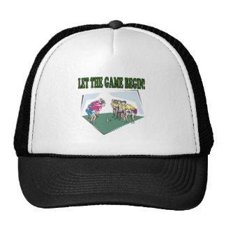 Let The Game Begin Trucker Hat