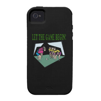 Let The Game Begin Case For The iPhone 4