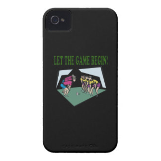 Let The Game Begin Case-Mate iPhone 4 Case