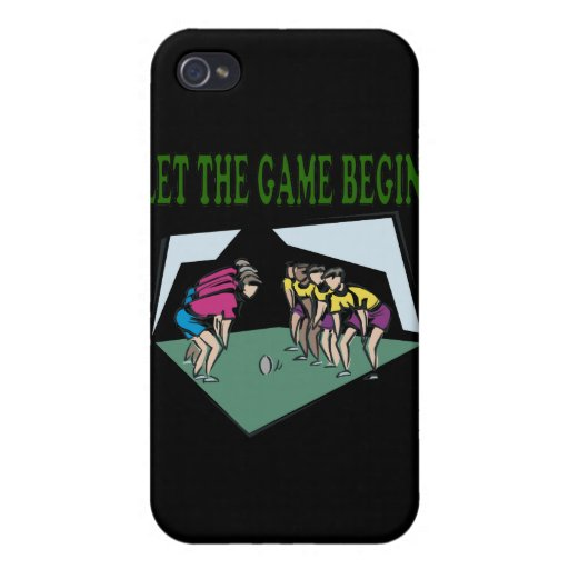 Let The Game Begin iPhone 4/4S Covers