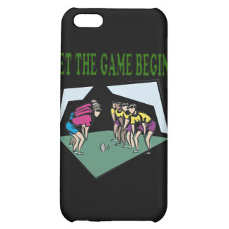 Let The Game Begin iPhone 5C Covers