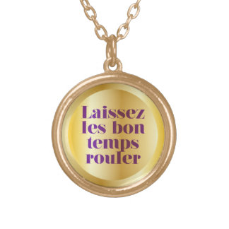 Let The Good Times Roll Personalized Necklace