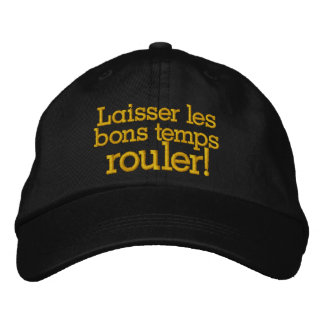 Let the Good Times Roll New Orleans - SRF Embroidered Hat