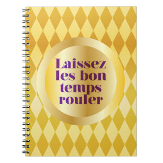 Let The Good Times Roll Note Books