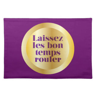 Let The Good Times Roll Placemats
