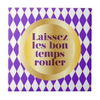 Let The Good Times Roll Ceramic Tiles
