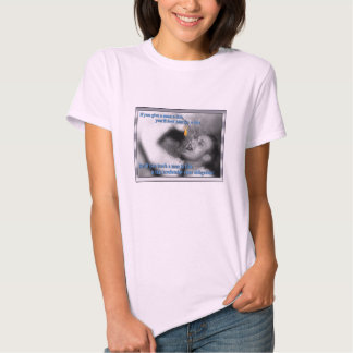 Let the guy learn to fish by himself! tee shirt