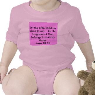 Let the little children come to me... tshirts