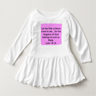 Let the little children come to me... shirt