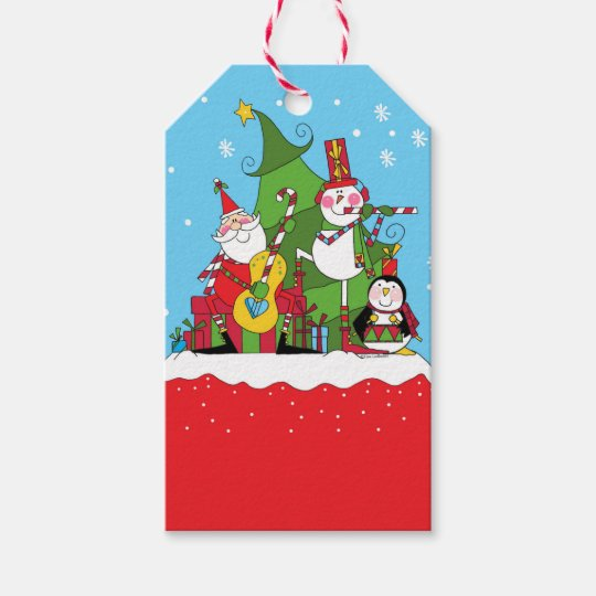 Let the Merry Making Begin Gift Tags