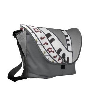 Let the music begin. commuter bag