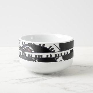 Let the music begin. soup mug