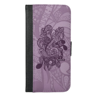 Let the music play phone wallet case