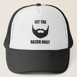 LET THE RAZOR RUST! TRUCKER HAT