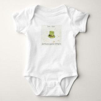 Let The Shenanigans Begin | Lucky Cuties II Baby Bodysuit