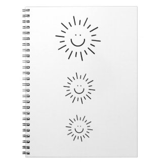 Let The Sunshine In! Spiral Notebooks