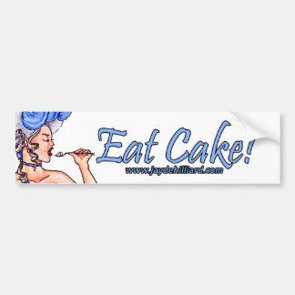 'Let Them Eat Cake' Bumpersticker Bumper Sticker