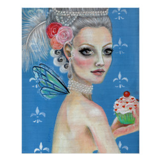 Let them eat cake, Let them eat cupcake Posters